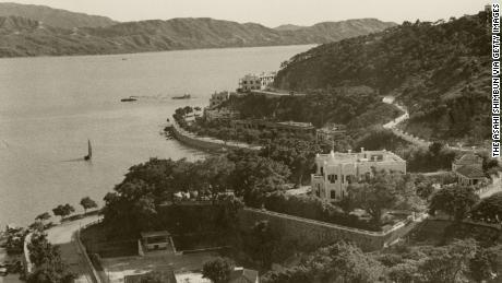 Macau coastline in 1941.