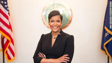Mayor of Atlanta Keisha Lance Bottoms
