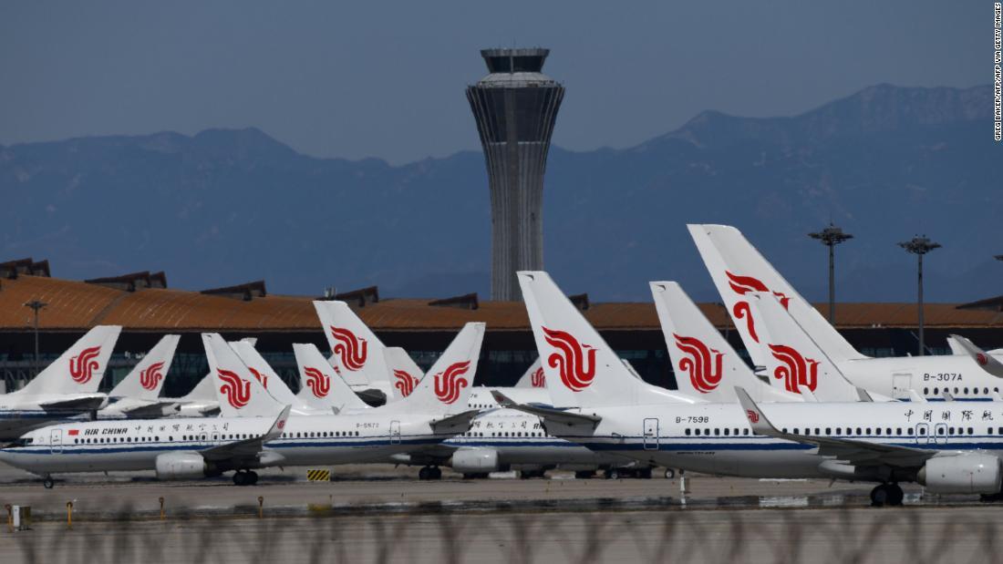 Photo of Hundreds of Beijing flights canceled after virus rebound