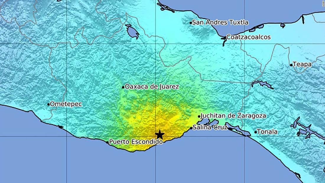 Mexico earthquake: 7.4 magnitude earthquake Oaxaca