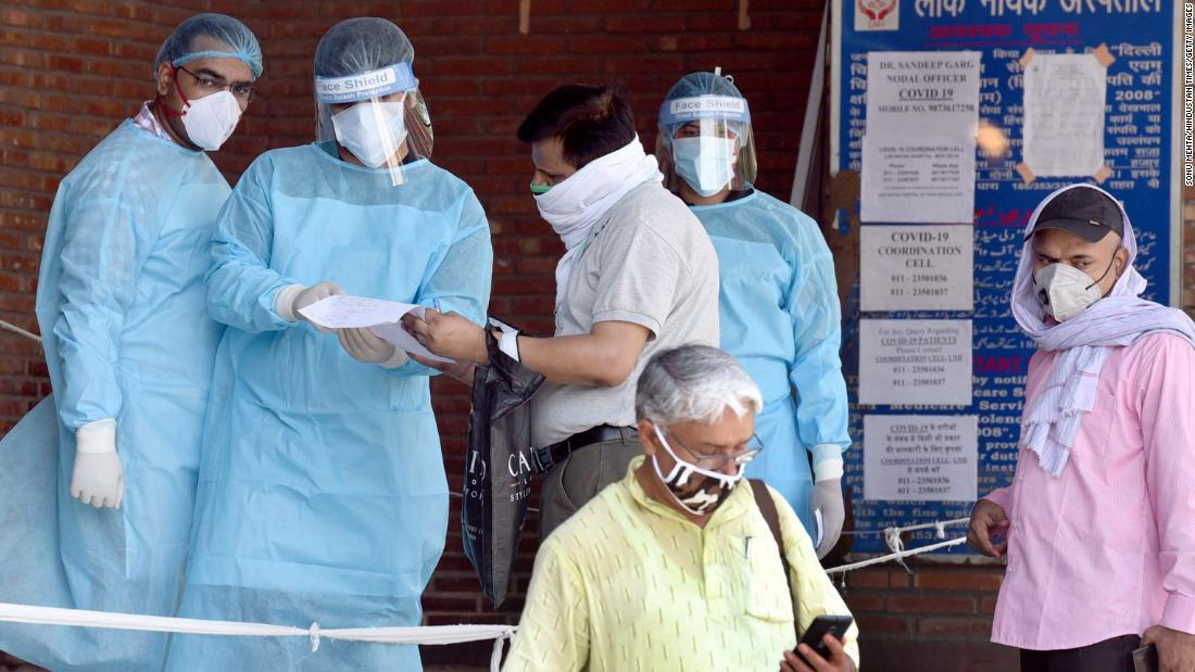 Photo of As Delhi becomes the coronavirus capital of India, hospitals struggle to deal