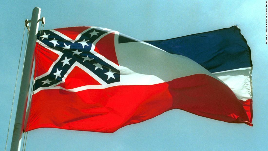 Jefferson Davis descendent: State flag should represent population