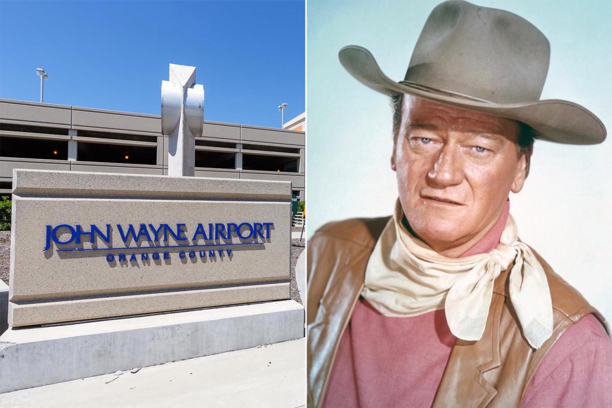 California Dems requests rename of John Wayne airport