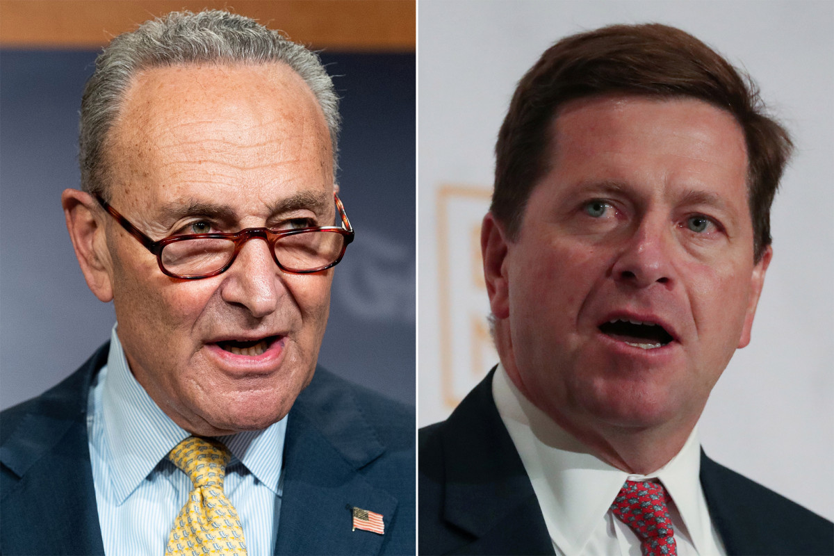 Photo of Chuck Schumer asks Jay Clayton to bid for Berman's US Attorney