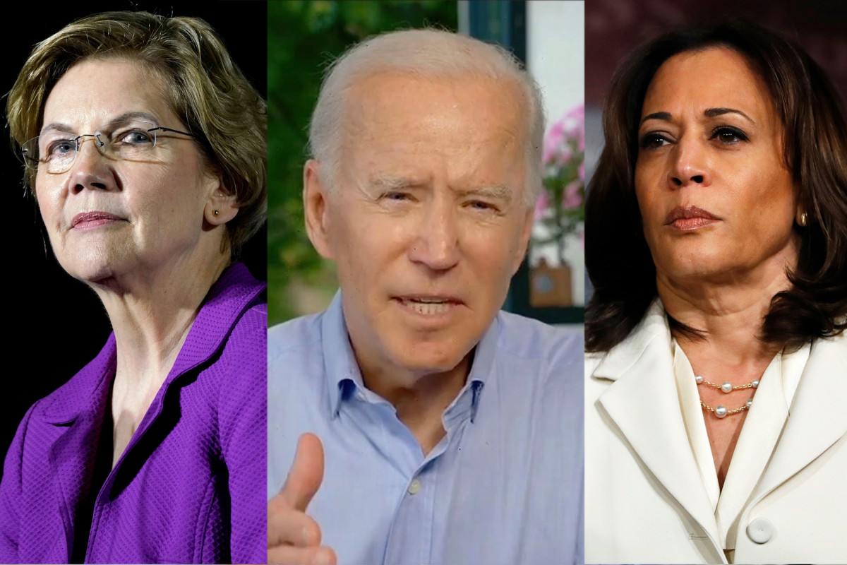 Did Joe Biden's potential running buddies dive into two competitors?