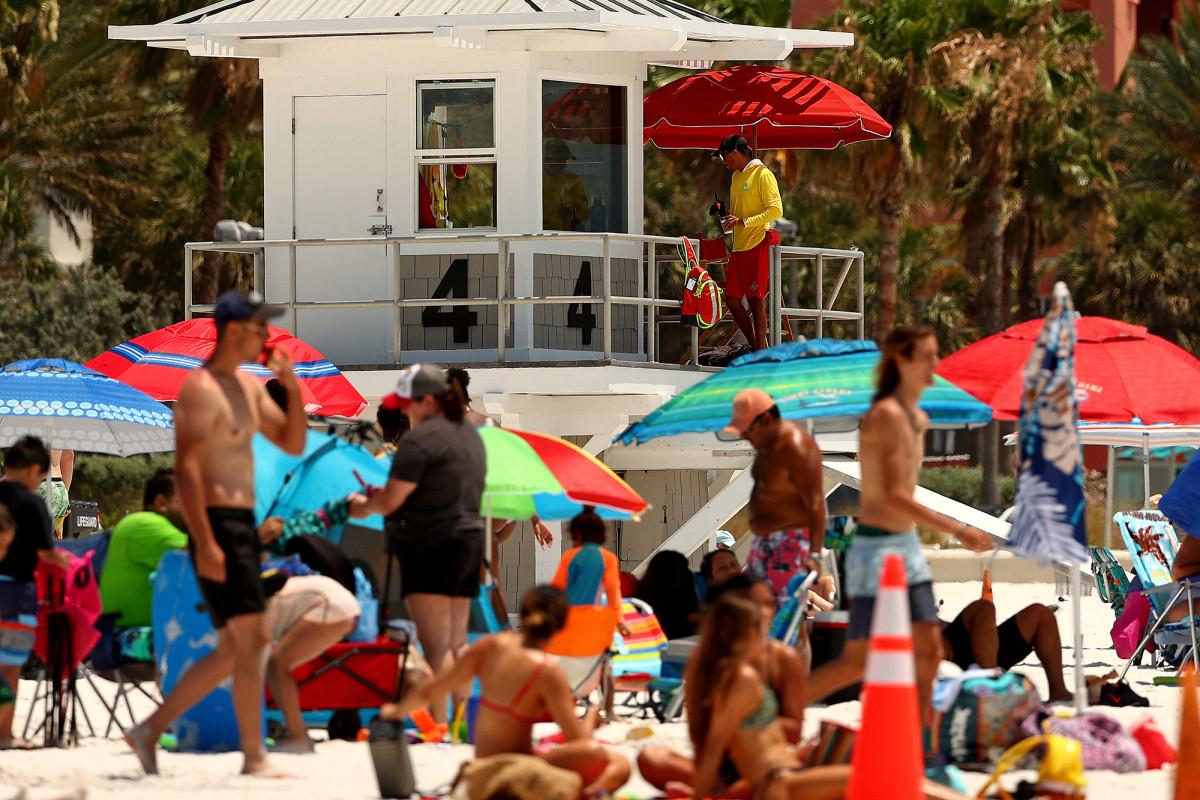 Photo of Florida sets one-day Coronavirus record