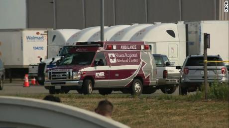 On June 27, 2020, a man was shot at Red Bluff, Walmart distribution center, California.