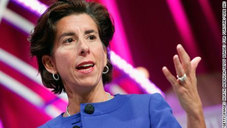 Rhode Island Government Gina Raimondo