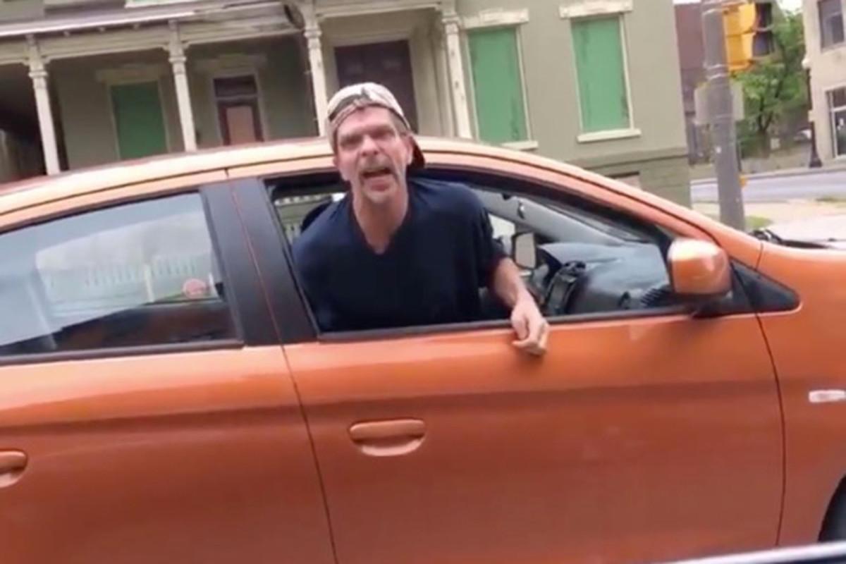 Upstate NY man caught black driver video shouting N-word