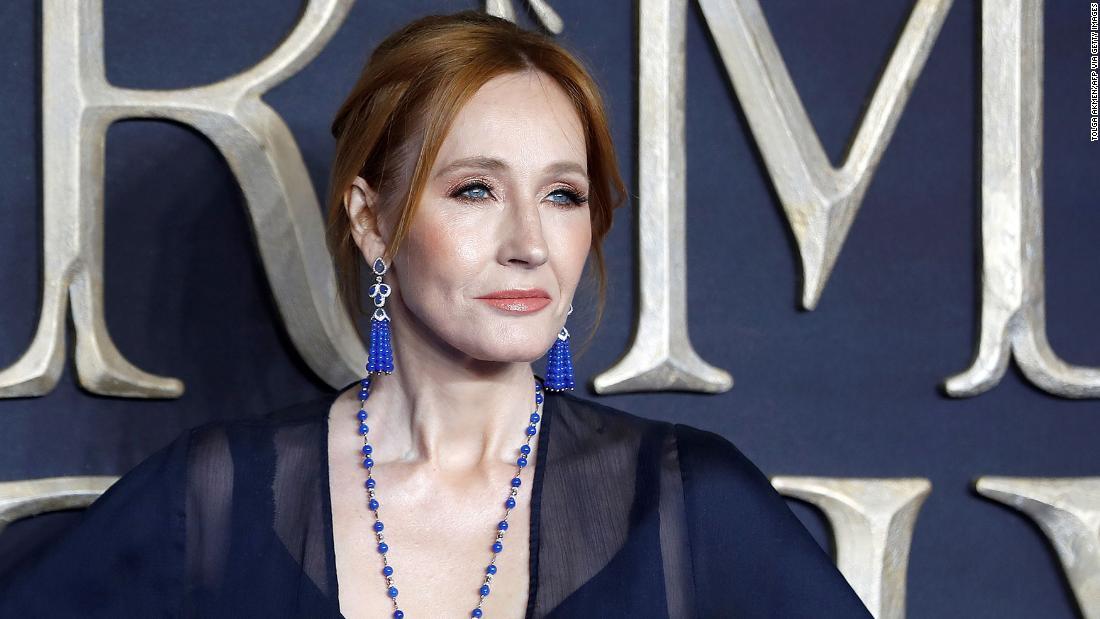 'Harry Potter' fan sites were responding to J.K. Rowling's essay on gender identity.