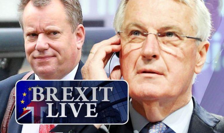Brexit LIVE: UK sends EU dire ultimatum - before rivals share 'poignant moment' in London | Politics | News