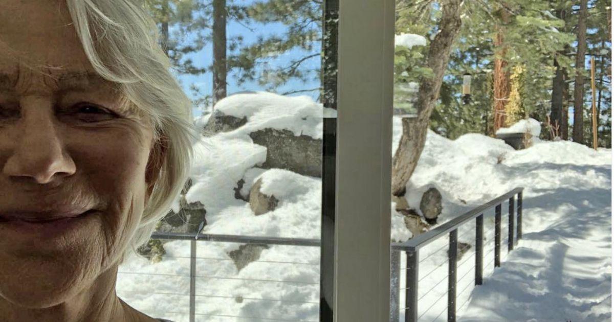 Dame Helen Mirren bravely chased away bear who broke into her Lake Tahoe garden