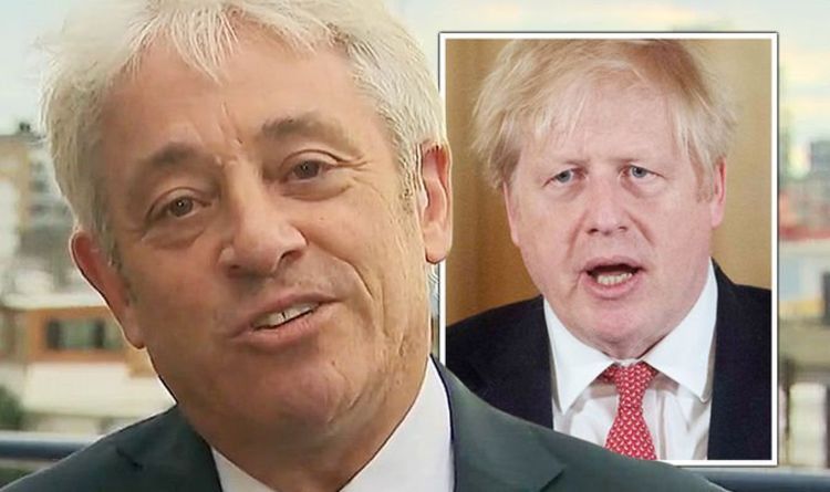 John Bercow lashes out at 'foolish' Boris and team for 'juvenile bed-wetting' | UK | News