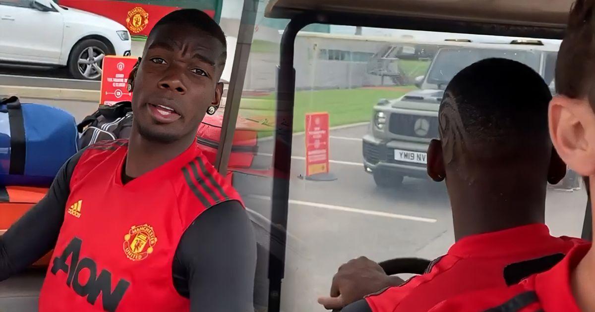 Manchester United fans make same observation after Paul Pogba video