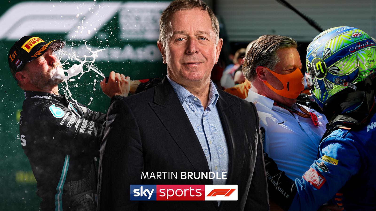 Martin Brundle's F1 verdict: New season, old school racing action