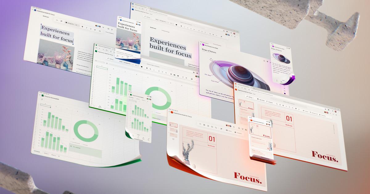 Microsoft teases its future Office UI
