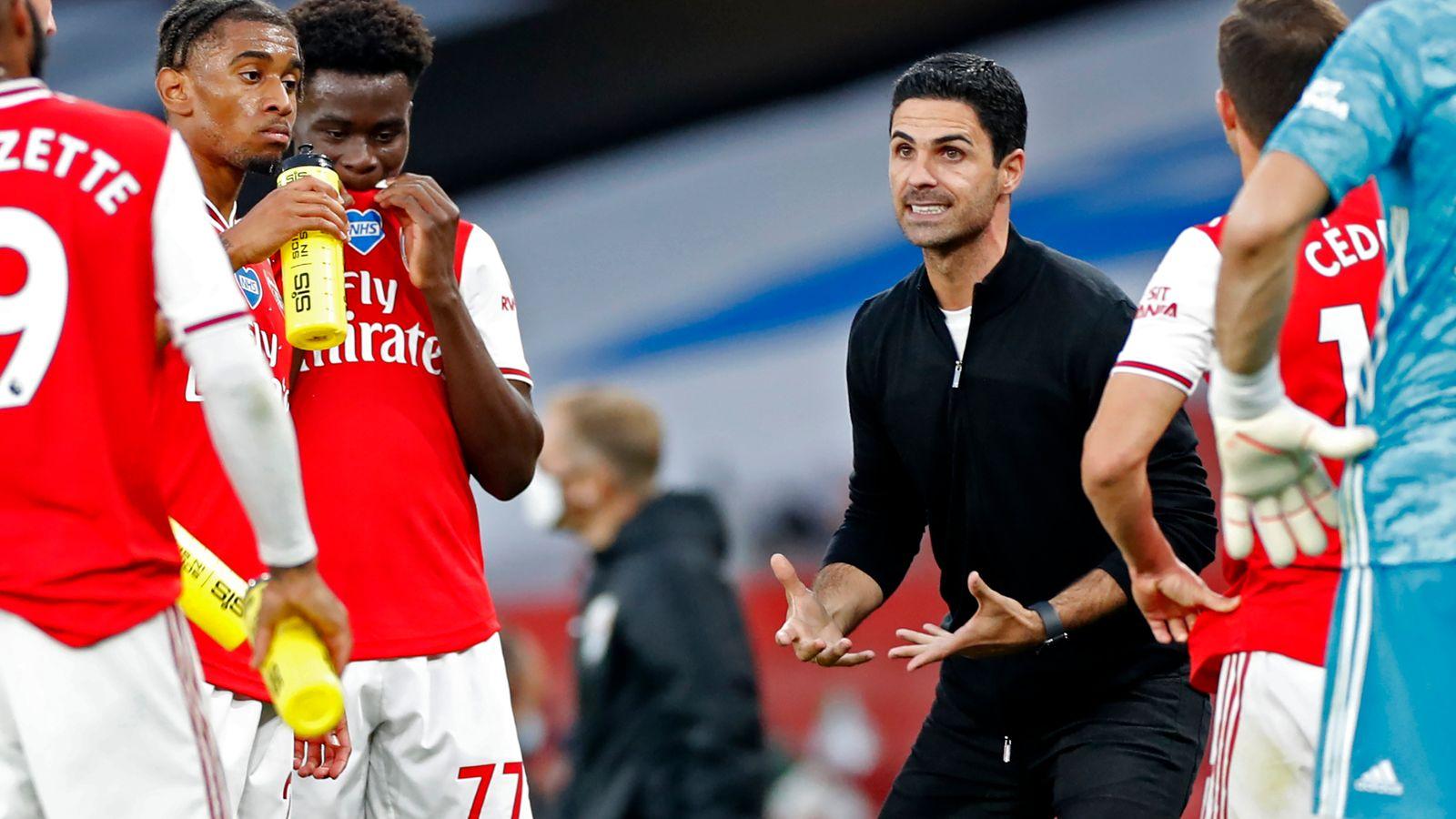 Mikel Arteta uncertain whether Arsenal will receive transfer market backing   Football News