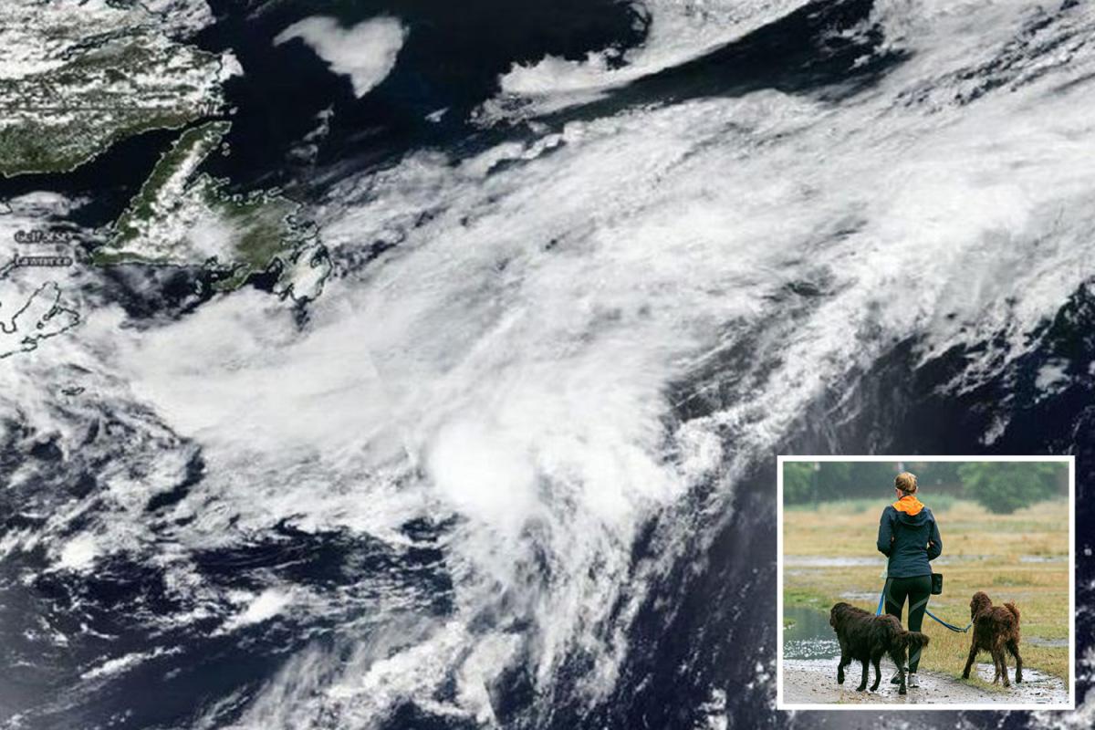 NASA images reveal Storm Edouard transforming into tropical cyclone as it hurtles towards UK