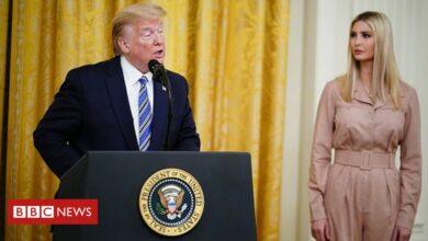 Photo of President Trump and Ivanka criticised around Goya guidance