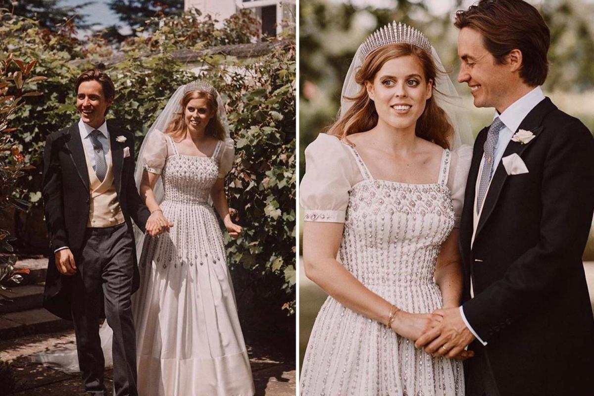 Princess Beatrice and husband Edoardo release new royal wedding snaps