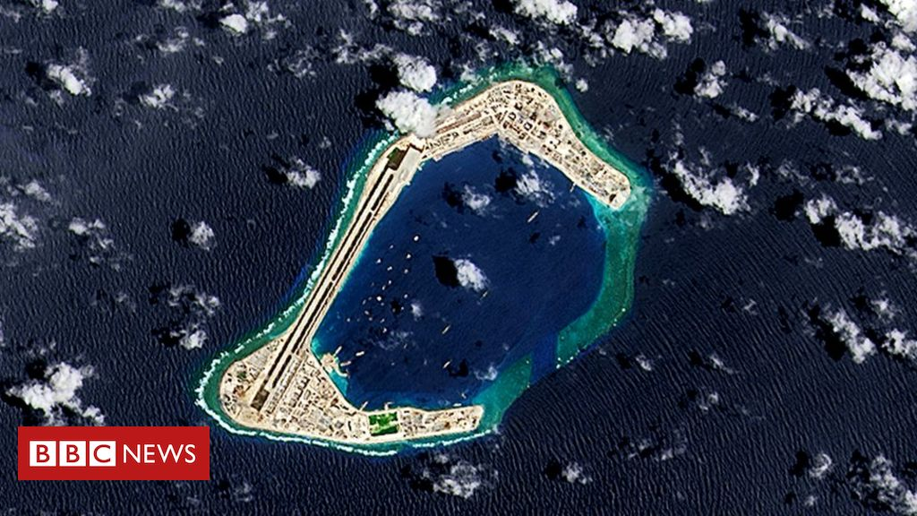 South China Sea dispute: China's pursuit of resources 'unlawful', says US