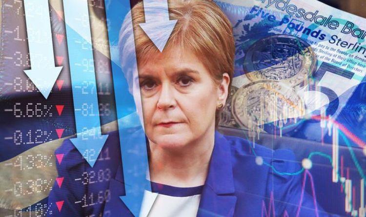 Sturgeon crisis: Scottish GDP plummets up to 90 percent amid crippling coronavirus   Politics   News