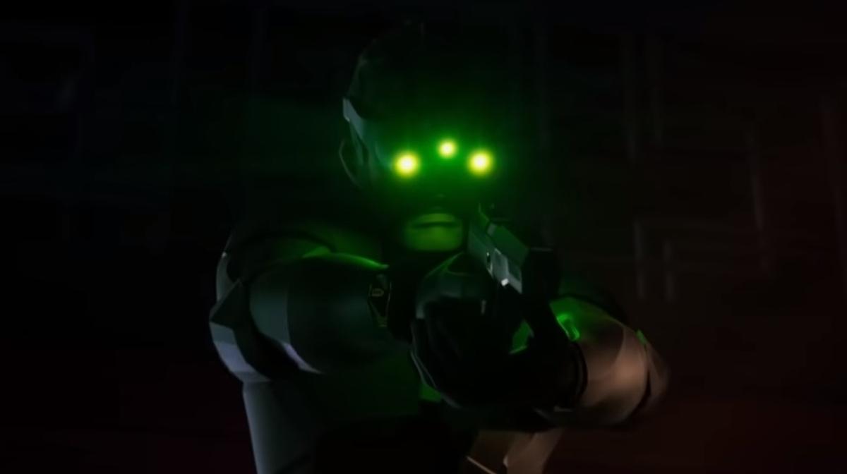 Ubisoft didn't show a new Splinter Cell tonight, but Sam Fisher did show up • Eurogamer.net
