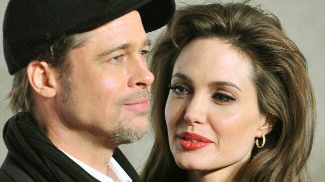 Angelina Jolie gets secret visit from ex Brad Pitt's mum Jane and family
