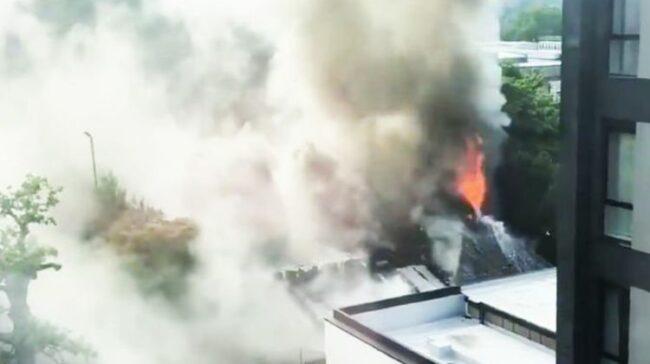 Birmingham fire: Huge blaze at Bournville's Cadbury Club - thick black smoke fills the sky | UK | News