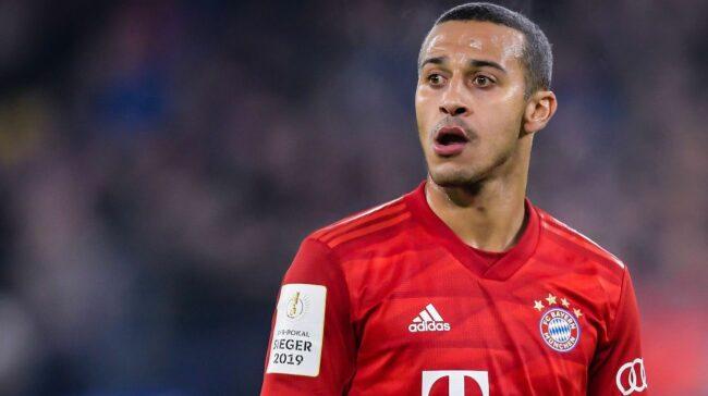 Liverpool won't meet Bayern's €30m asking price for Thiago
