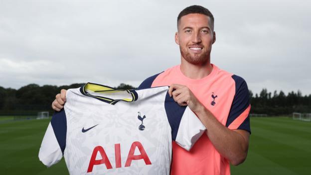 Matt Doherty: Tottenham sign defender from Wolves