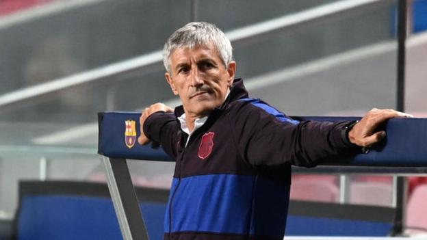 Quique Setien: Barcelona sack manager after Bayern thrashing