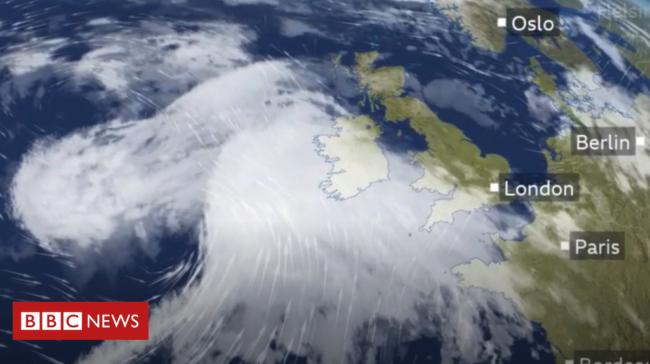 Storm Francis brings fresh weather warnings to NI