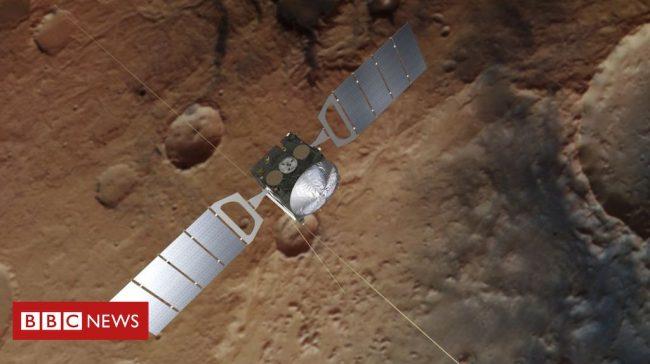 Liquid 'Water' Bodies Found Under Mars Surface