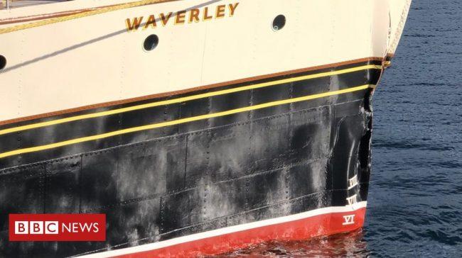 Seventeen people were injured after Waverley crashed