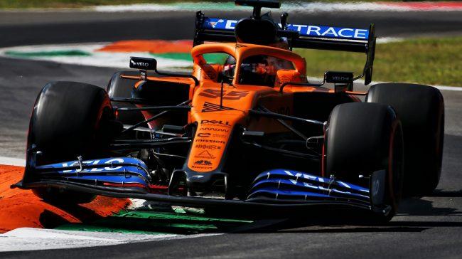 Carlos Sainz Jnr, McLaren, Monza, 2020