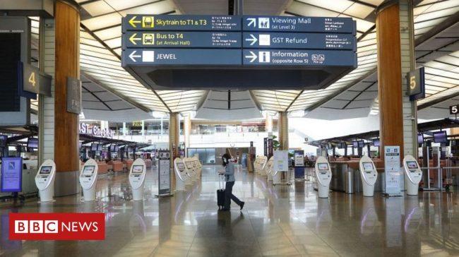 Coronavirus: 'World's best airport' warns of long-term crisis