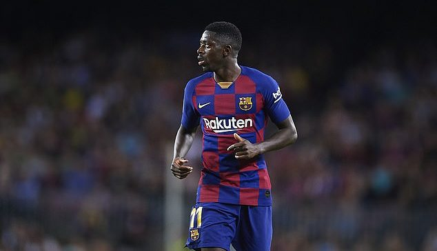 Manchester United offer Barcelona forward Osman Dembele 60m fee reduction