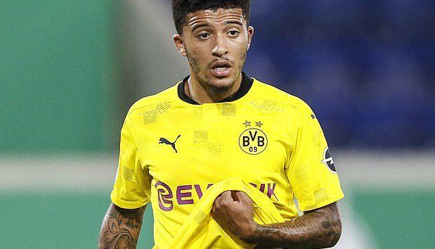 Manchester United have paid Jadon Sancho less than his Borussia Dortmund salary.